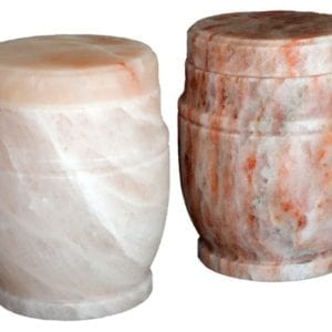 Natures Rock Salt Urn