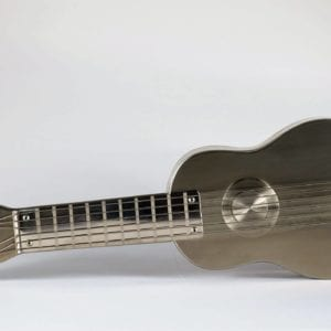 steel guitar urn for ashes