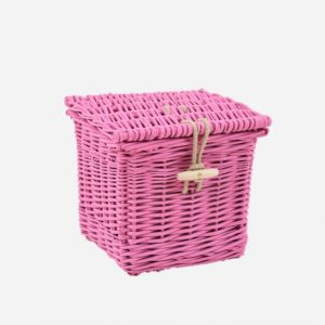 Square Coloured Willow pink